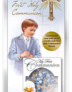 communion boxed card-boy-roasry