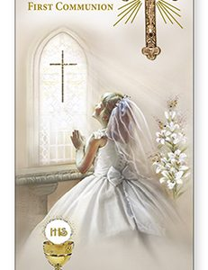 communion boxed card-dasughter